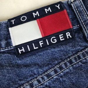 Vintage high waisted Tommy Hilfiger denim shorts